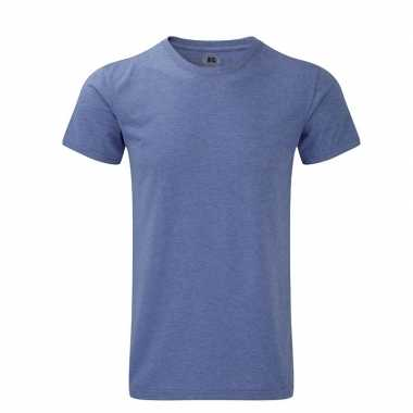 Basic heren t shirt blauw