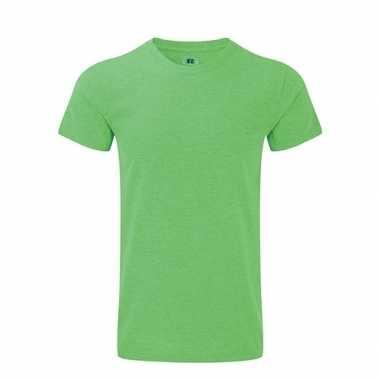 Basic heren t shirt groen
