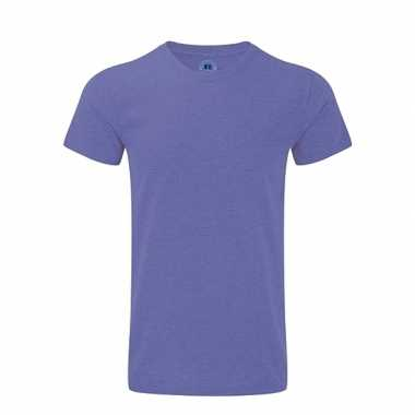 Basic heren t shirt paars