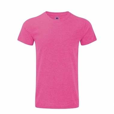 Basic heren t shirt roze