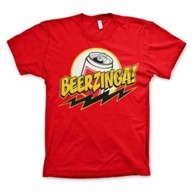 Big bang theory beerzinga t shirt