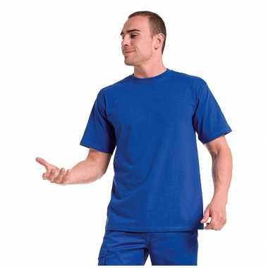 Blauw grote maten t shirt xl