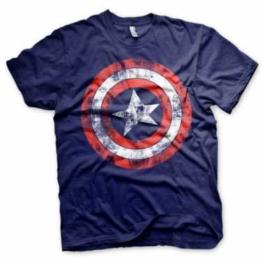 Captain america t shirt heren