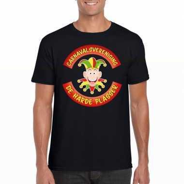 Carnavalsvereniging harde plasser limburg heren t shirt zwart