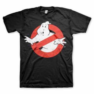 Ghostbuster t shirt heren zwart