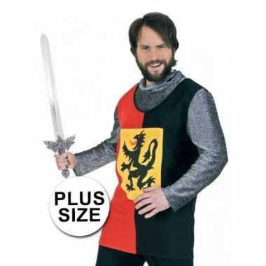 Grote maten ridder shirt