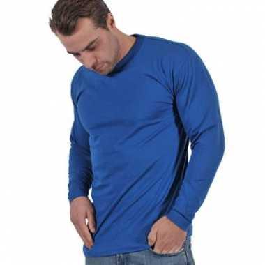Grote maten t-shirt lange mouw XL