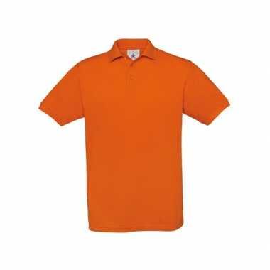 Koningsdag Oranje polo t-shirt korte mouw