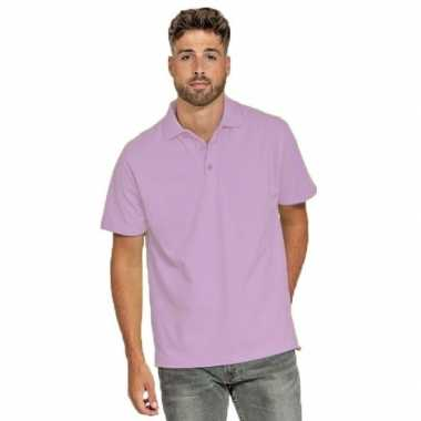 Polo shirt lila paars heren