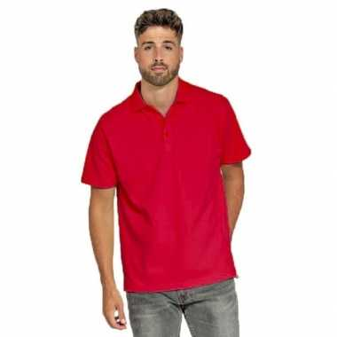 Polo shirt rood heren