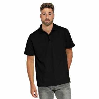 Polo shirt zwart heren