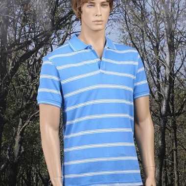 Poloshirt Milano blauw