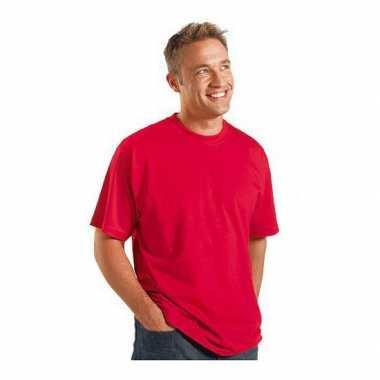 Rood grote maten t shirt xl