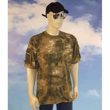Soldaten shirt camouflage heren