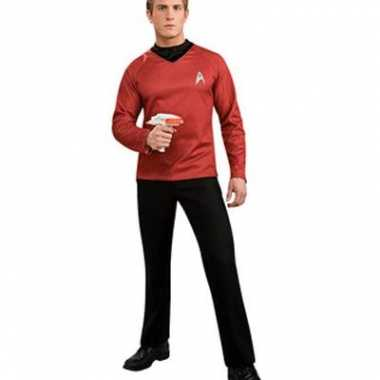 Star trek t shirt rood