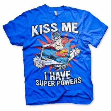 Super powers heren t shirt