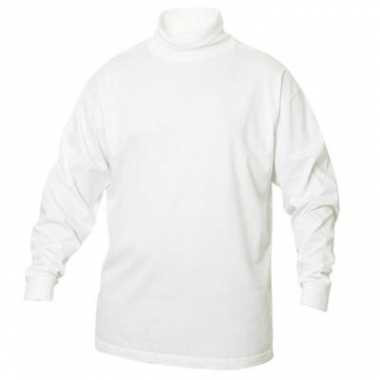 T-shirt col lange mouw heren