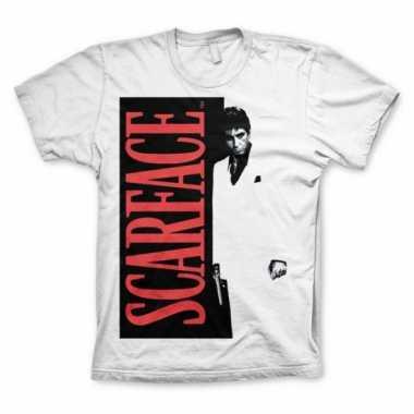 T shirt scarface heren