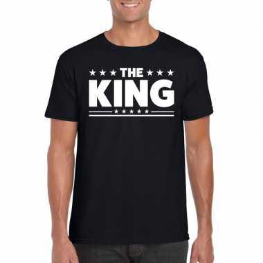The king heren t shirt zwart