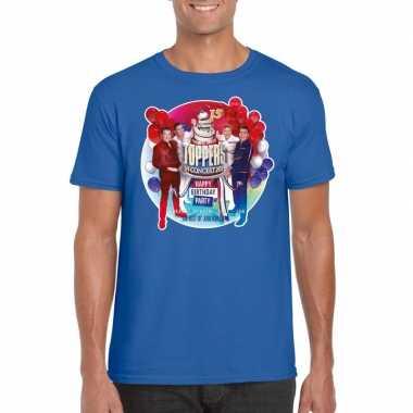 Toppers blauw toppers concert officieel t shirt heren