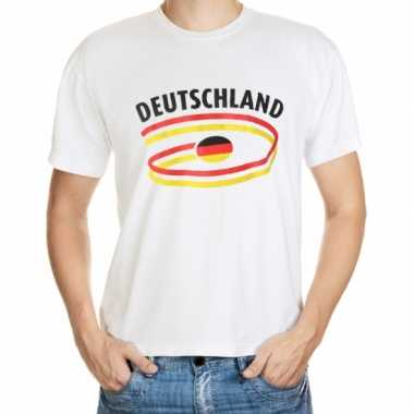 Wit heren t shirt duitsland