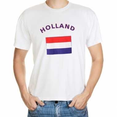 Wit t shirt holland heren