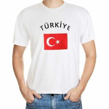Wit t shirt turkije heren