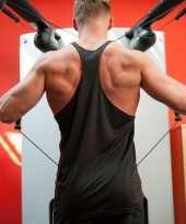 Bodybuilders heren t-shirt zwart