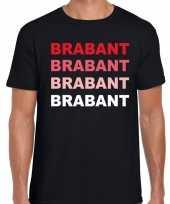 Brabant holland t-shirt zwart heren
