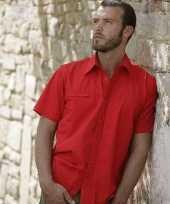 Casual shirt korte mouw