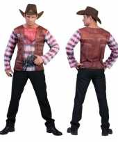 Cowboy shirt d print