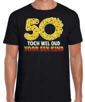 Funny emoticon t-shirt toch wel oud een kind zwart heren