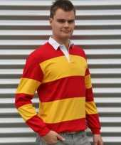 Rugbyshirt spain rood geel