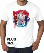 Toppers grote maten wit toppers concert officieel shirt heren