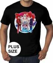 Toppers grote maten zwart toppers concert officieel shirt heren