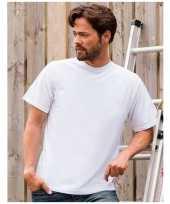 Wit grote maten t-shirt xl